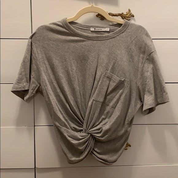 Alexander Wang Tops - Alexander Wang Grey T-shirt